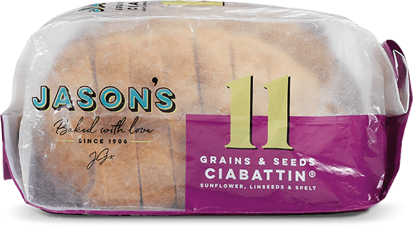 Grains & Seeds Ciabattin ® - Jason's Bread